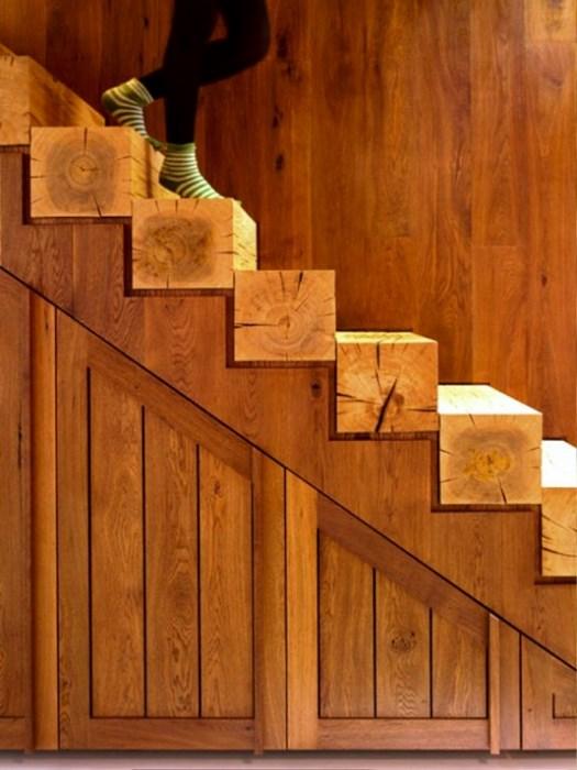 Деревянная лестница в доме своими руками видео схема